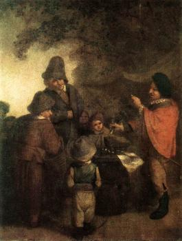 Adriaen Jansz Van Ostade : The Stall-keeper